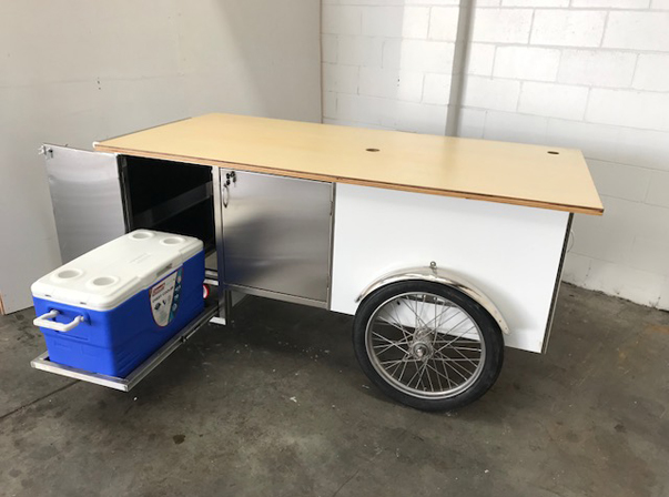 Coffee Trolley with Esky