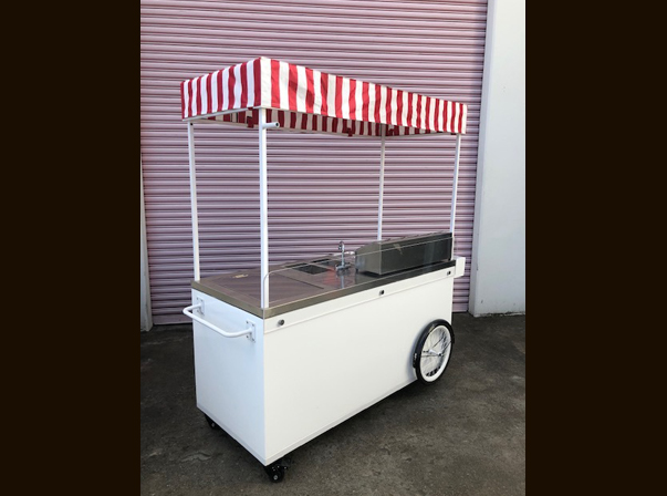 Timber Hot Dog Cart