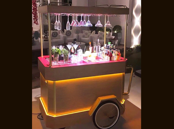 Cocktail Cart
