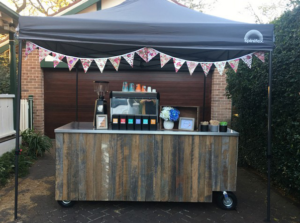 Medium Coffee Cart