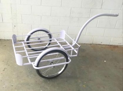 Mobile Push / Pull Trolley