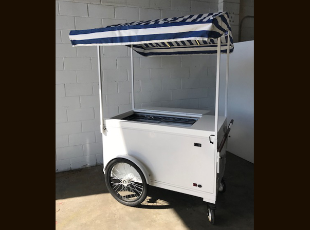 Battery Ice Cream Cart/Canopy or Umbrella