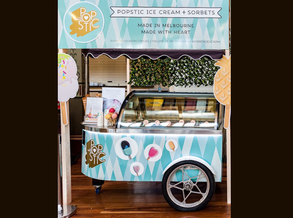 Popstic Ice Cream Cart