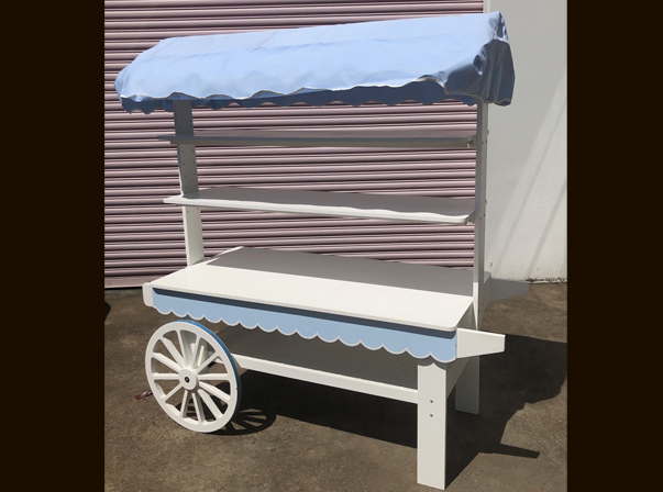 Candy Cart Canvas Canopy 1500mm
