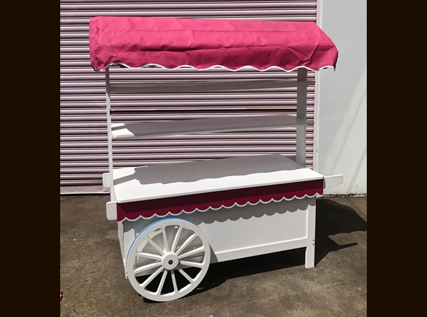 Candy Cart Canvas Canopy Model A 1500mm
