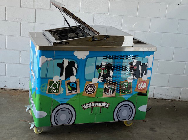 Ben & Jerry's 3 Tray Cart