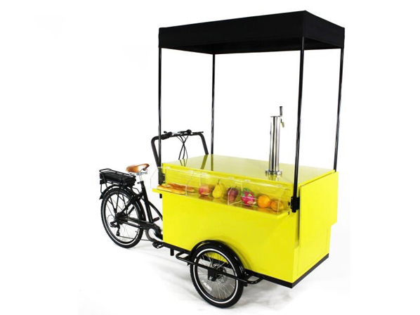 Beverage Bike Yellow