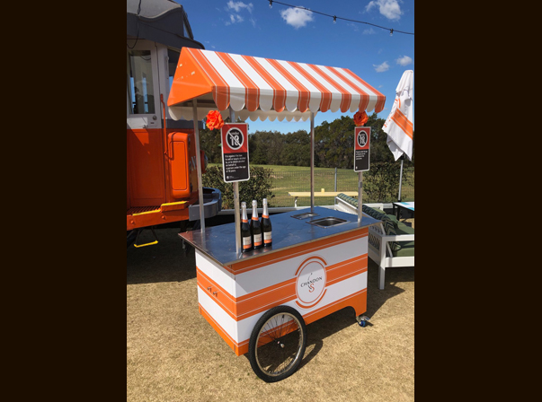 Chandon Beverage Cart