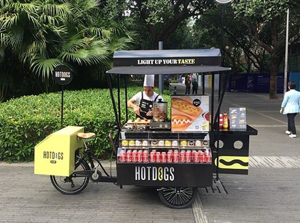 JX Hot Dog Bike