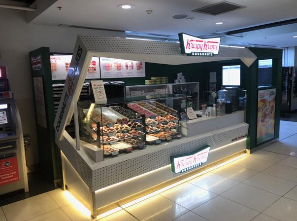 Krispy Kreme's Melbourne Airport