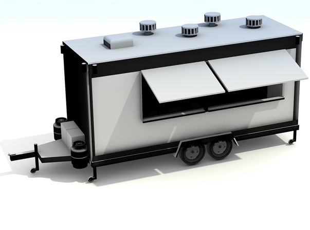 Large Food Trailers