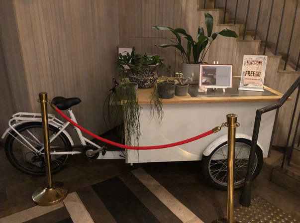 Mobile Bike/Beverage cart