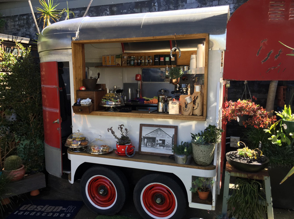 Old Horse Float Trailer/Coffee
