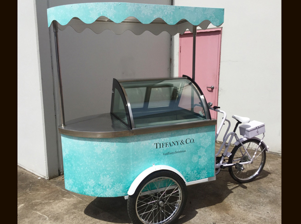 Tiffany Gelato Bike#/Christmas