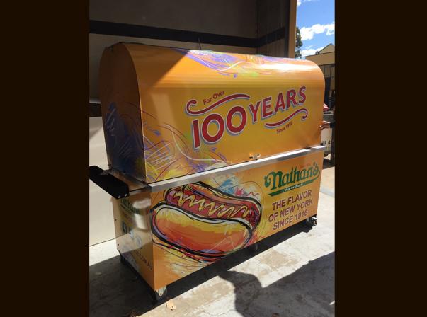 X-Line Hot Dog Cart