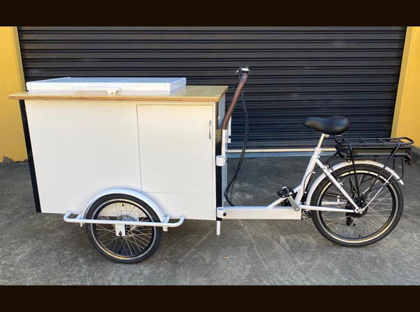 Beverage Battery Bike
