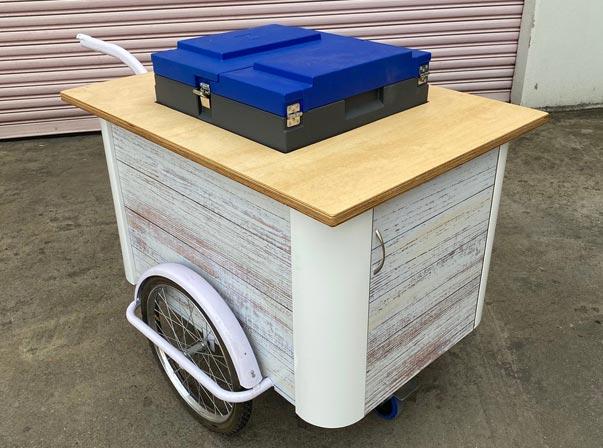 Eutectic Freezer/Retirement village Cart