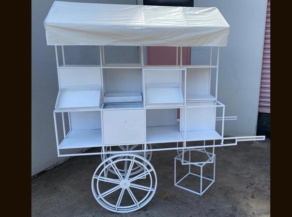 Street Cart Box Display