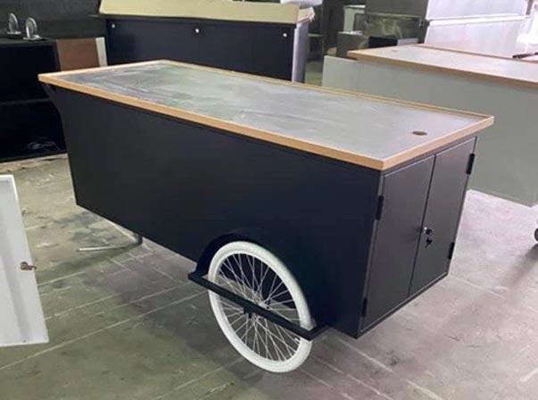 Merchandise Cart Black 2000mm