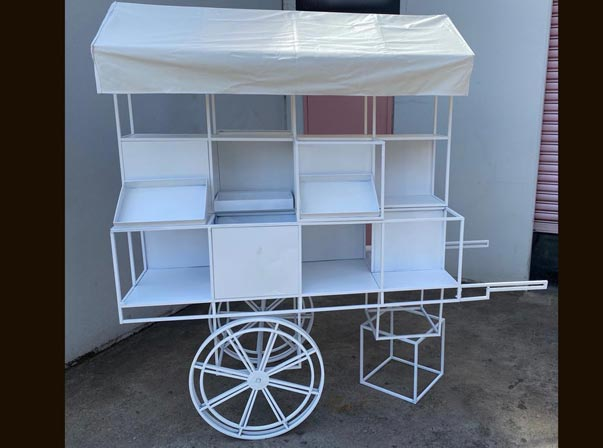 MERCHANDISE BIKE AND UMBRELLA /TIMBER BOX $4900
