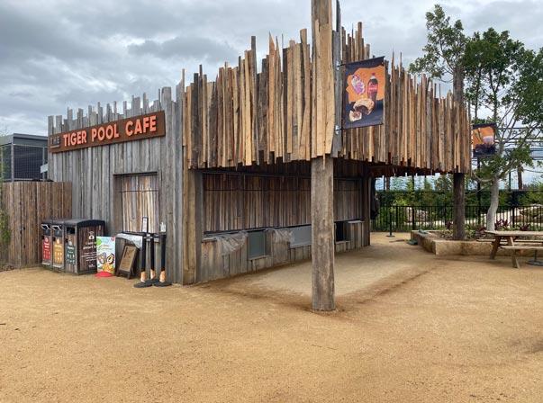 Sydney Zoo Tiger Kiosk