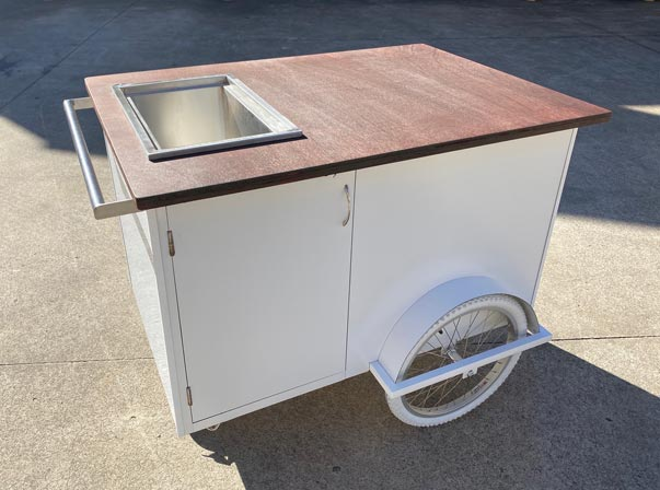 1200mm Beverage Trolley/Ice Well