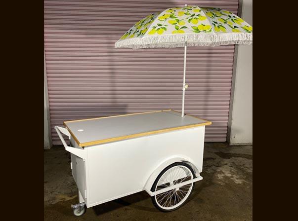 Merchandise Cart 1500mm/Lemon Umbrella