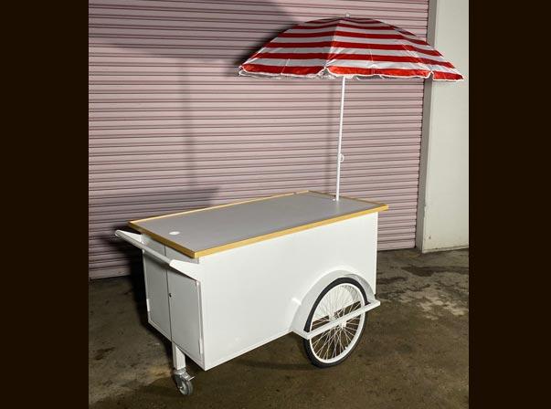 Merchandise Cart 1500mm with Umbrella