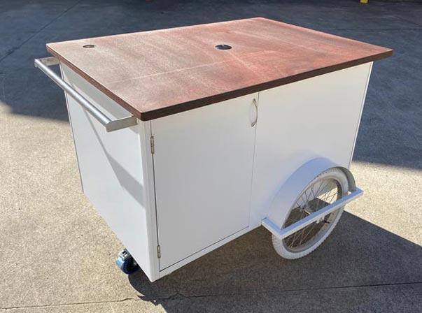 Small 1200 Coffee Trolley