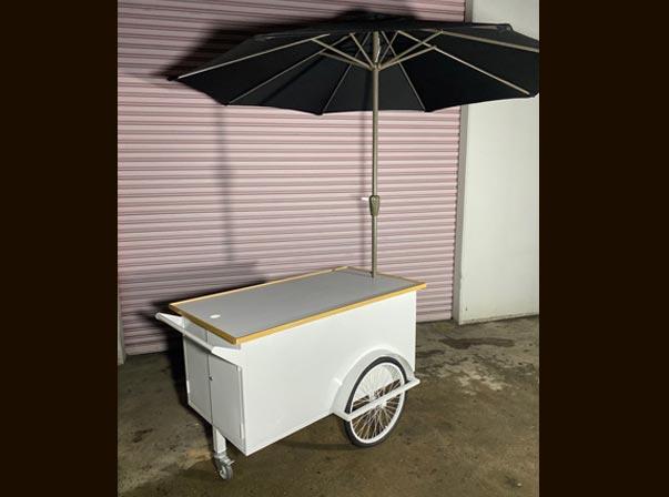 Small Coffee Trolley 1500mm Umbrella