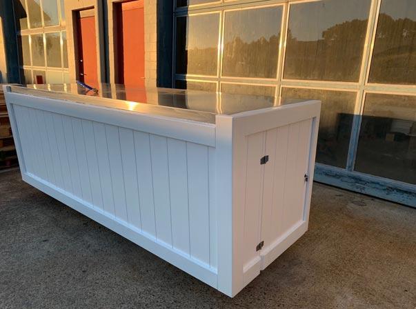 Hamptons Style Coffee Cart