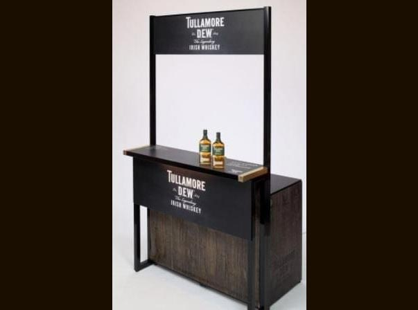 Tullamore Whiskey Stand