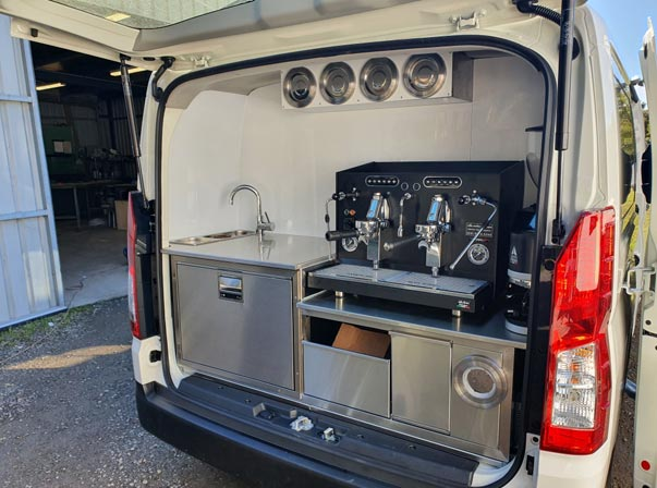 Toyota Hi Ace Coffee Van