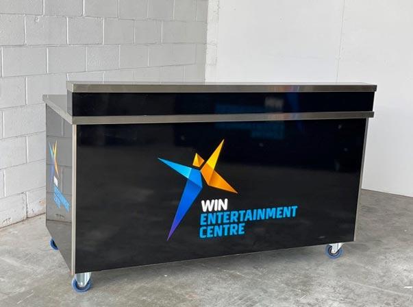 Win Stadium DJ Table